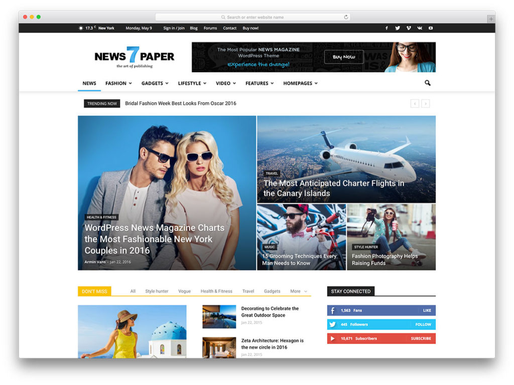 download-neutral-blue-wordpress-theme-newspaper-popular-magazine-wordpress-theme