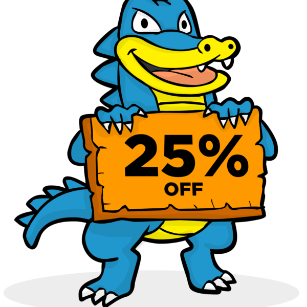 Hostgator-25-Off-Coupon-Logo
