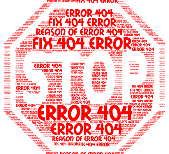 Tips to fix error 404