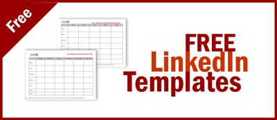 free linkedin templates - marketing