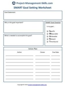 project-management-skills-business-worksheet