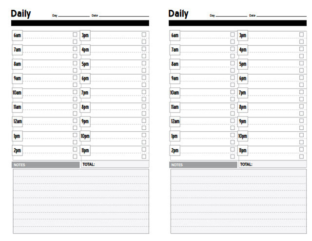 DIYPalnner-productivity-planner-template