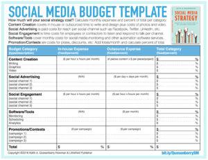 Download Sheet Free Social Media Budget Template Ryan S Marketing Blog