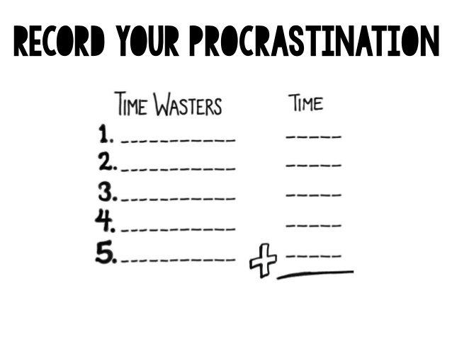 5 questions that will help you stop Procrastinating – Will Worksheet
