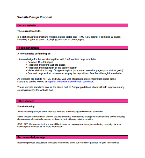 Project Proposal Example Template And Samples Proposal Mandegarfo