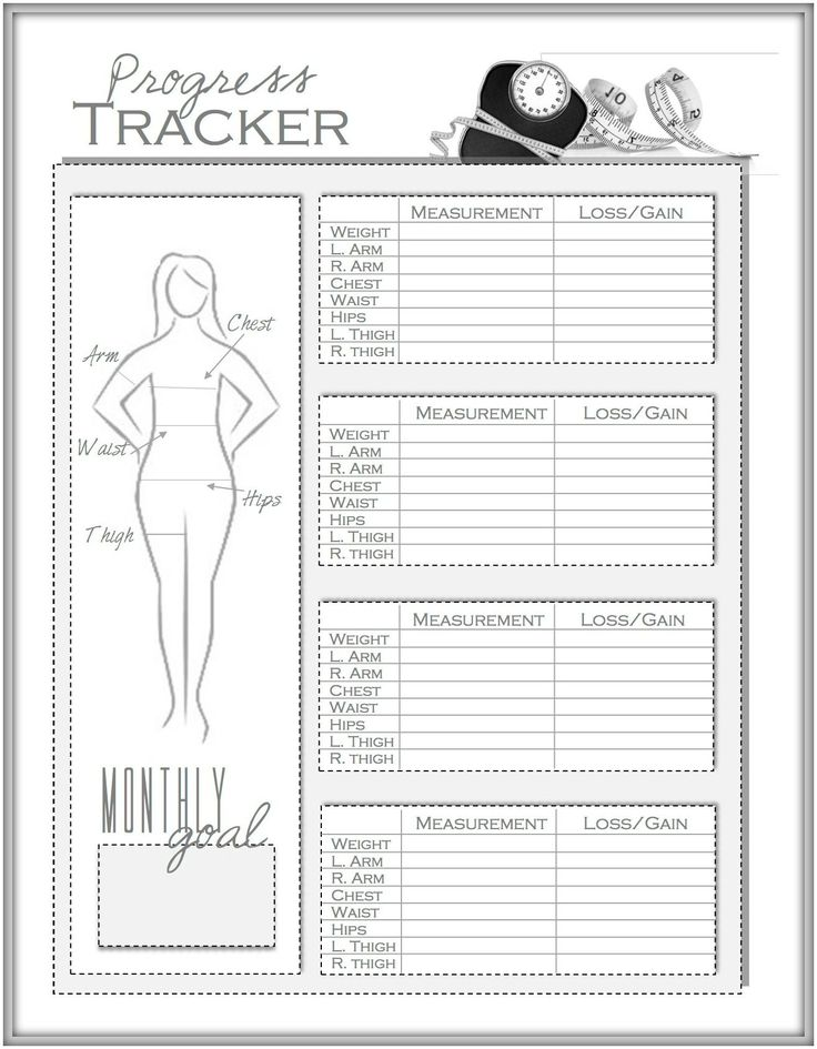 It's just a photo of Crafty Printable Weight Loss Chart Pdf