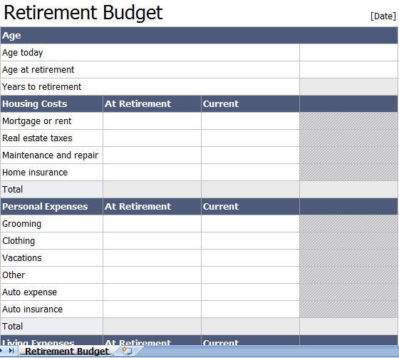 retirement-planning-spreadsheet-templates