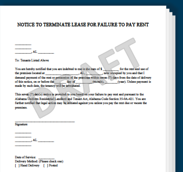 Eviction Letter Templates Ryan S Marketing Blog